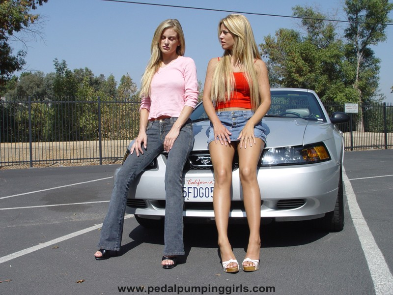 image Two girls pumped for information